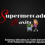 SUPERMERCADOS MAXITO    Espacio Publicitario